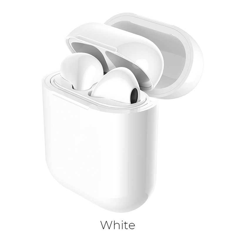 Hoco Cw18 Wireless Charging Protective Box For Airpods White
