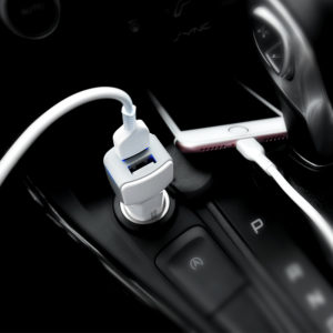 Car Chargers with Cable